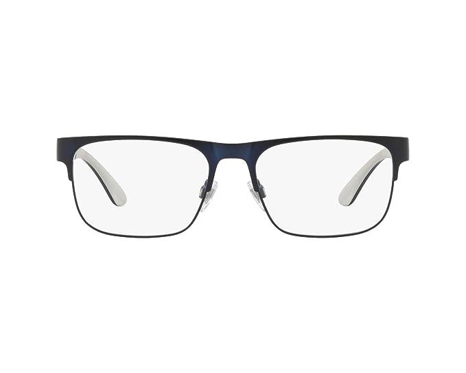 Ralph Lauren POLO 0PH1178 Monturas de gafas, Matte Navy Blue, 54 ...