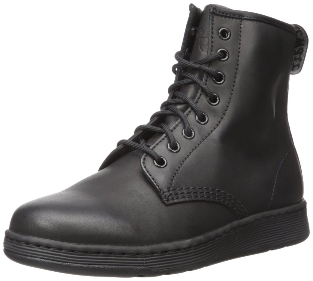 Dr. Martens Women's Newton Temperley Leather Mono Fashion Boot B071NVSSY2 9 Medium UK (US Men's 10 US)|Black