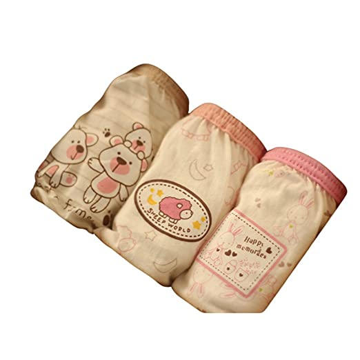 Age for 1-3 years Meijunter 3pcs Organic Cotton Children Fashion underwear Baby boys//Girls Cute Cartoon Boy Baby Bear #60 100cm