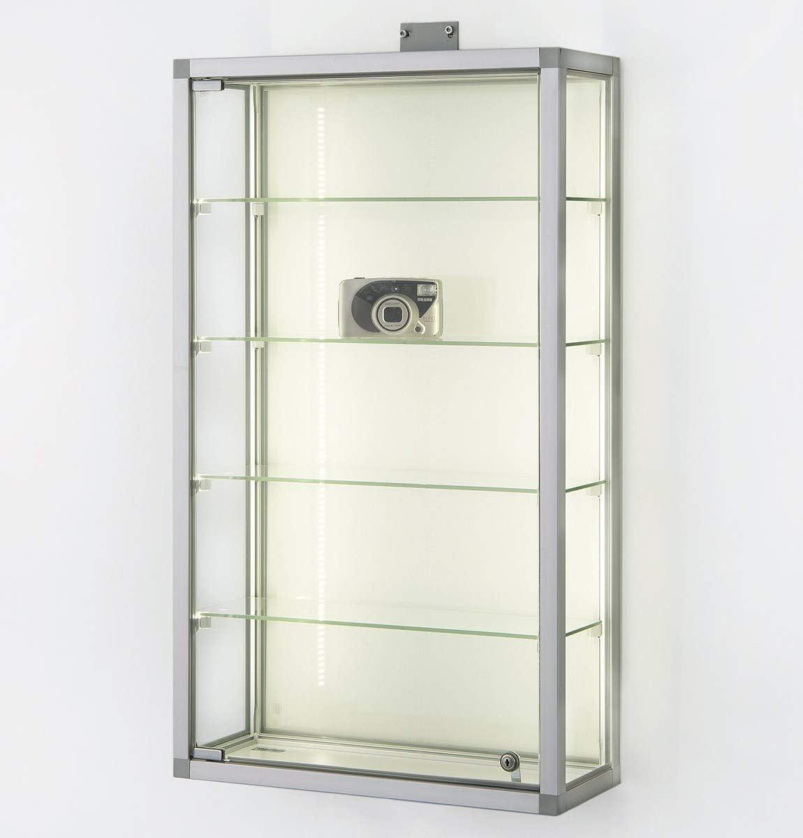 MHN Vitrina de pared con cerradura, para coleccionistas, de ...