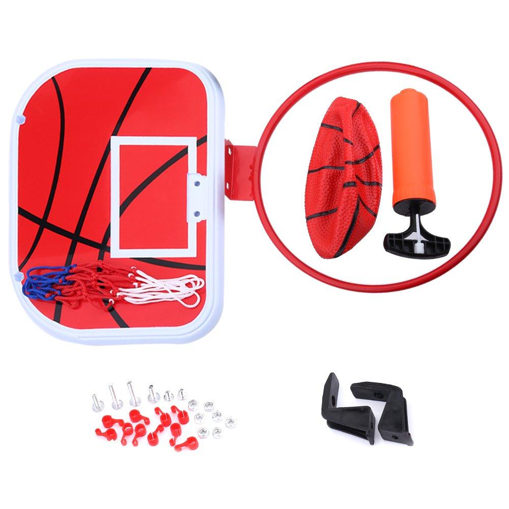 Canasta de Baloncesto para Ni/ños,de Hierro Y Pl/ástico,para Los Ni/ños Jugar Asixx Mini Juego de Baloncesto con Tablero