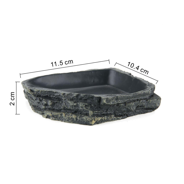 ComSaf Resin Terrarium Reptile/&Amphibian Habit Decoration Pack