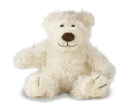 Amazon Com Melissa Doug Baby Roscoe Bear Teddy Bear Stuffed