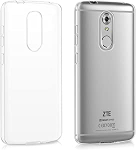 kwmobile Crystal Case Compatible with ZTE Axon 7 Mini - Soft Flexible TPU Silicone Protective Cover - Transparent