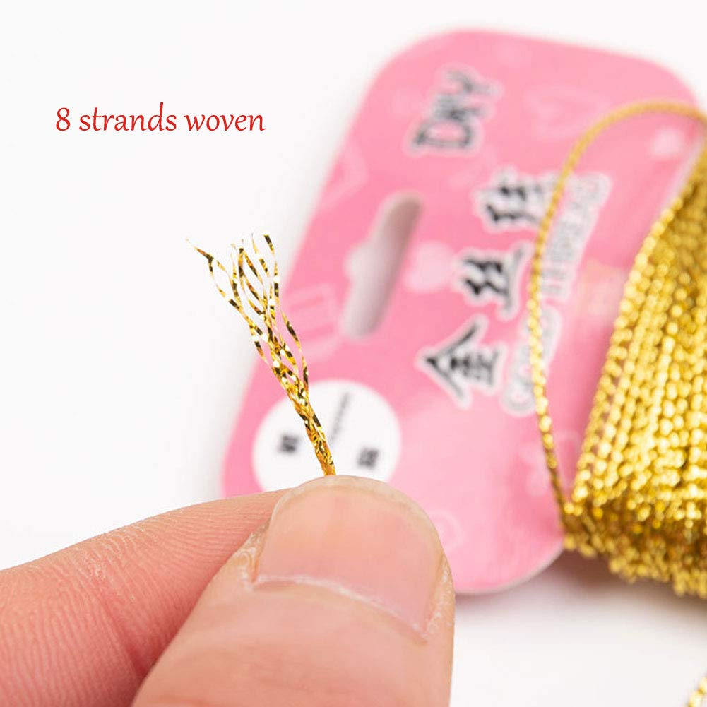 DIY Projects 5mm Womens Clothes 60 Yard Embellishments A Paillettes Sequins Trim 12Pcs Spangle Flat Sequins Trim Glitter Sequin String Ribbon Roll for Crafts