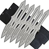 6 Pc Pro Quality Throwing Knife Set – 10″ Knives Designed for Speed and Accuracy – Rite Edge Review