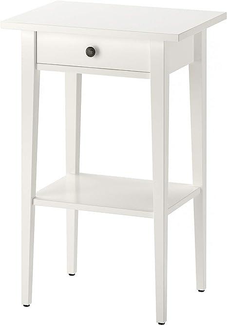Ikea Hemnes 003 742 97 Table De Nuit Blanc Taille 46 X 33 3 4 Amazon Ca Maison Et Cuisine