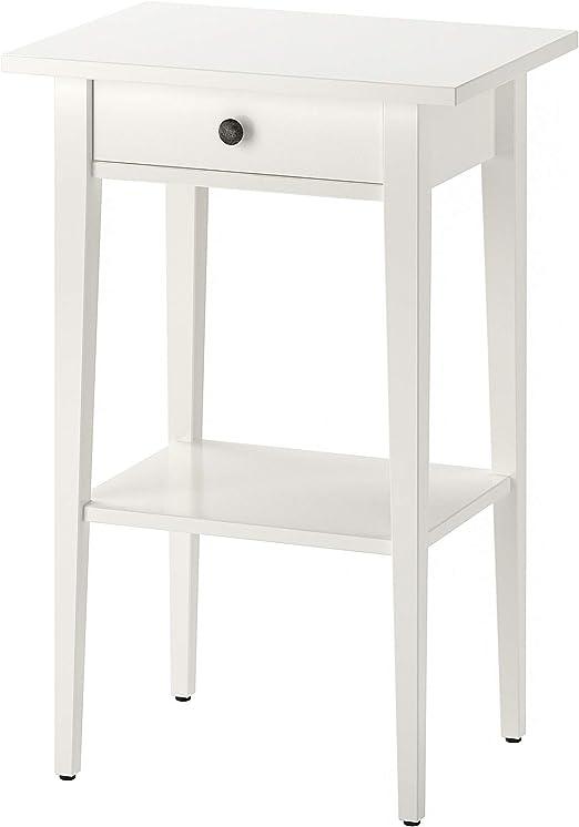 Ikea 003 742 97 Hemnes Nachttisch Weiss Amazon De Kuche Haushalt