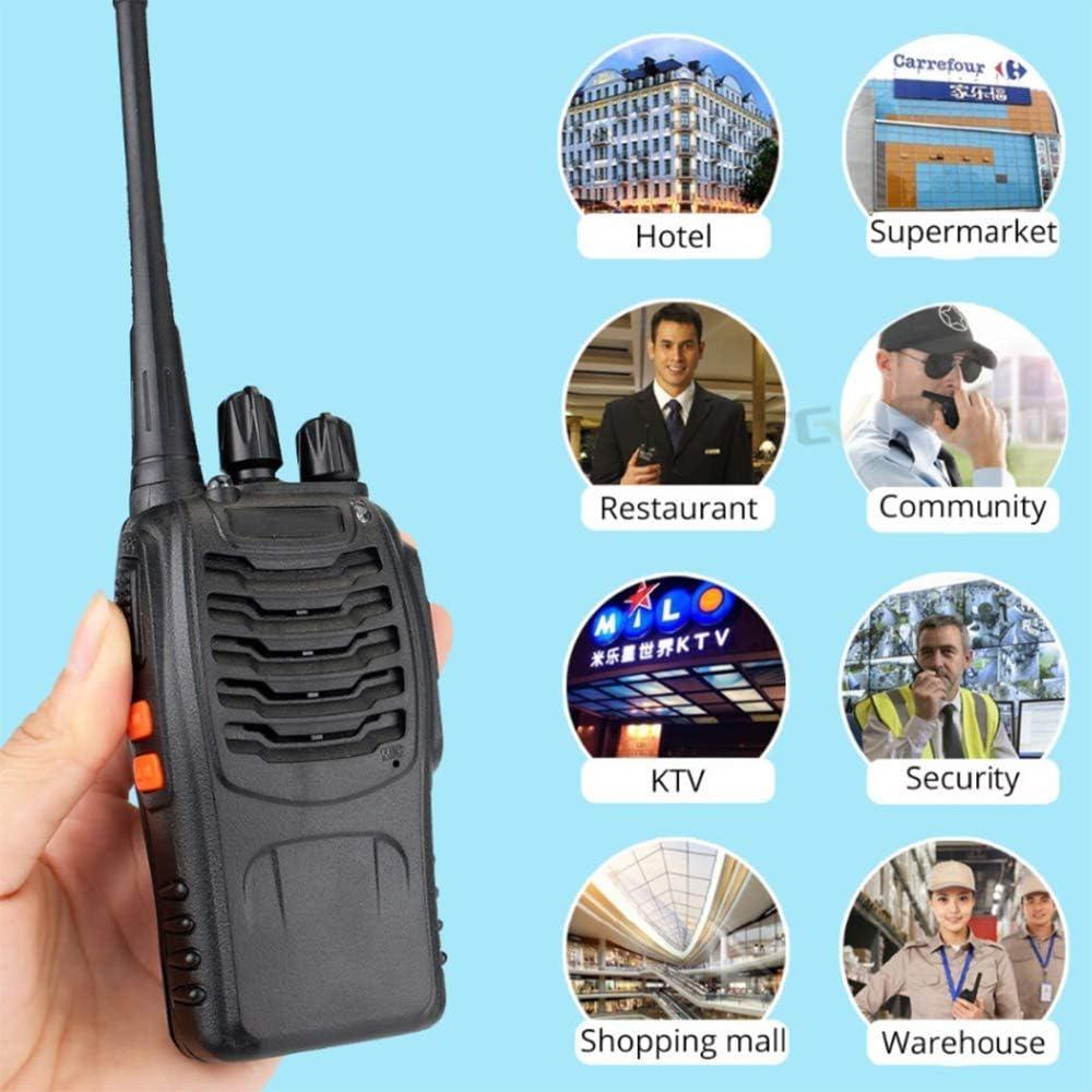 YWT Radio bidireccional Radio UHF Radio bidireccional Rápido Seguro USB Recargable FM Seguridad de Emergencia Walkie-Talkie inalámbrico de 16 Canales, Audio Ultra Claro, 1 par: Amazon.es: Hogar