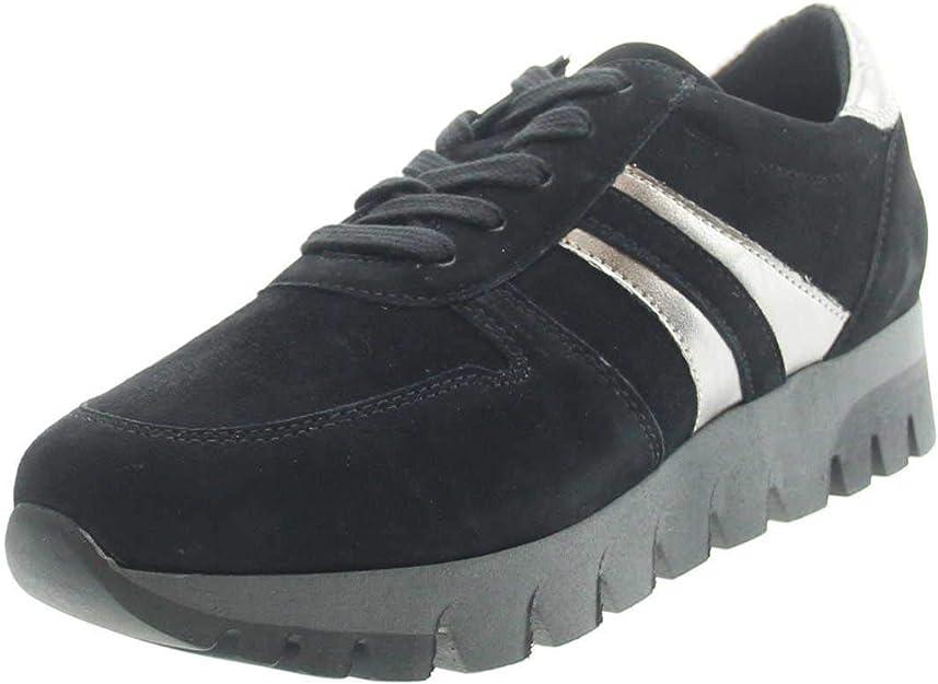 Tamaris Sneakers 23741-23 Damen Schwarz/Zinn
