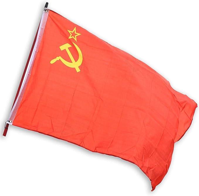 Epic Militaria Martillo soviético Estilo Vintage WW2 y Bandera del ejército Rojo: Amazon.es: Jardín