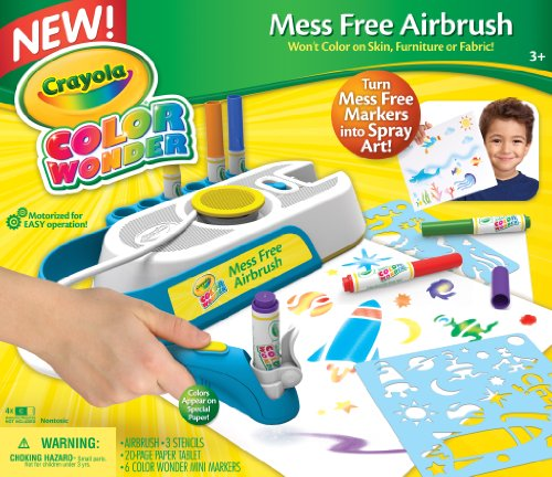 Crayola Color Wonder Mess Free Airbrush (Crayola Spray Paint)