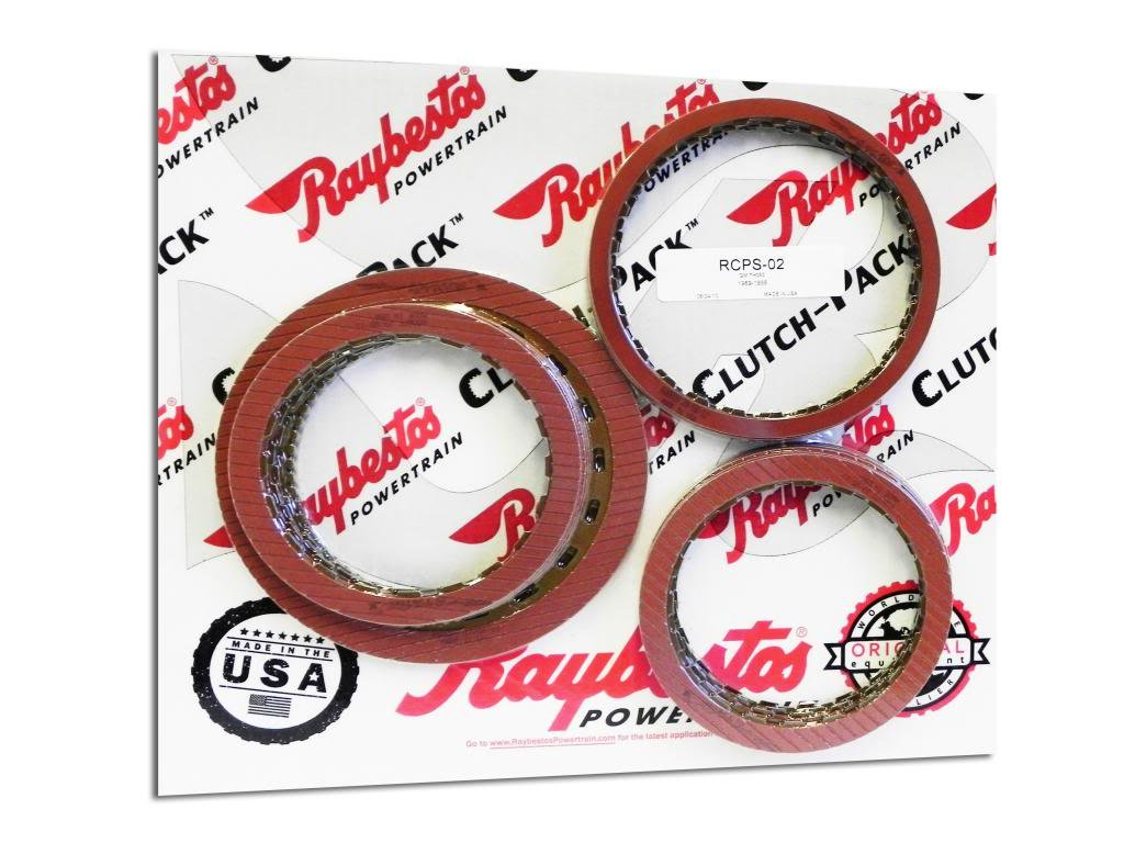 Raybestos Powertrain RCPS-02 Stage 1 GM TH350