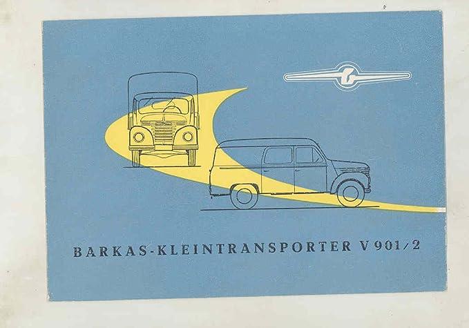 Amazon Com 1957 Barkas Veb V901 2 Van Dump Truck Station