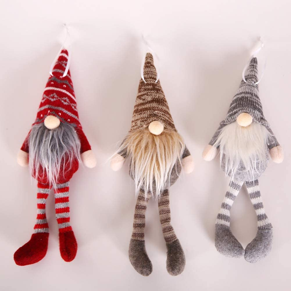 Tomte Gnome Plush Handmade Scandinavian Swedish Faceless Figurine Christmas Holiday Decoration Gift