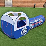 Amazing 2 In 1 Play Tent Tunnel House Outdoor Children Baby Kids Toys Gifts Game House