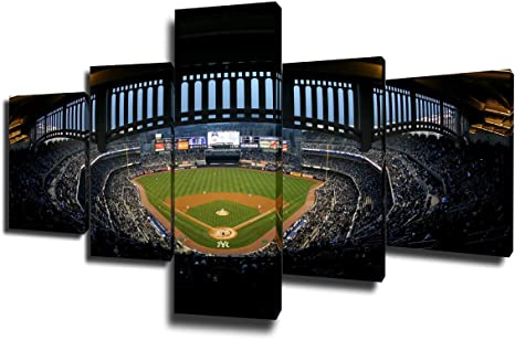 Baseball New York Sport Athlete Poster and Canvas Art