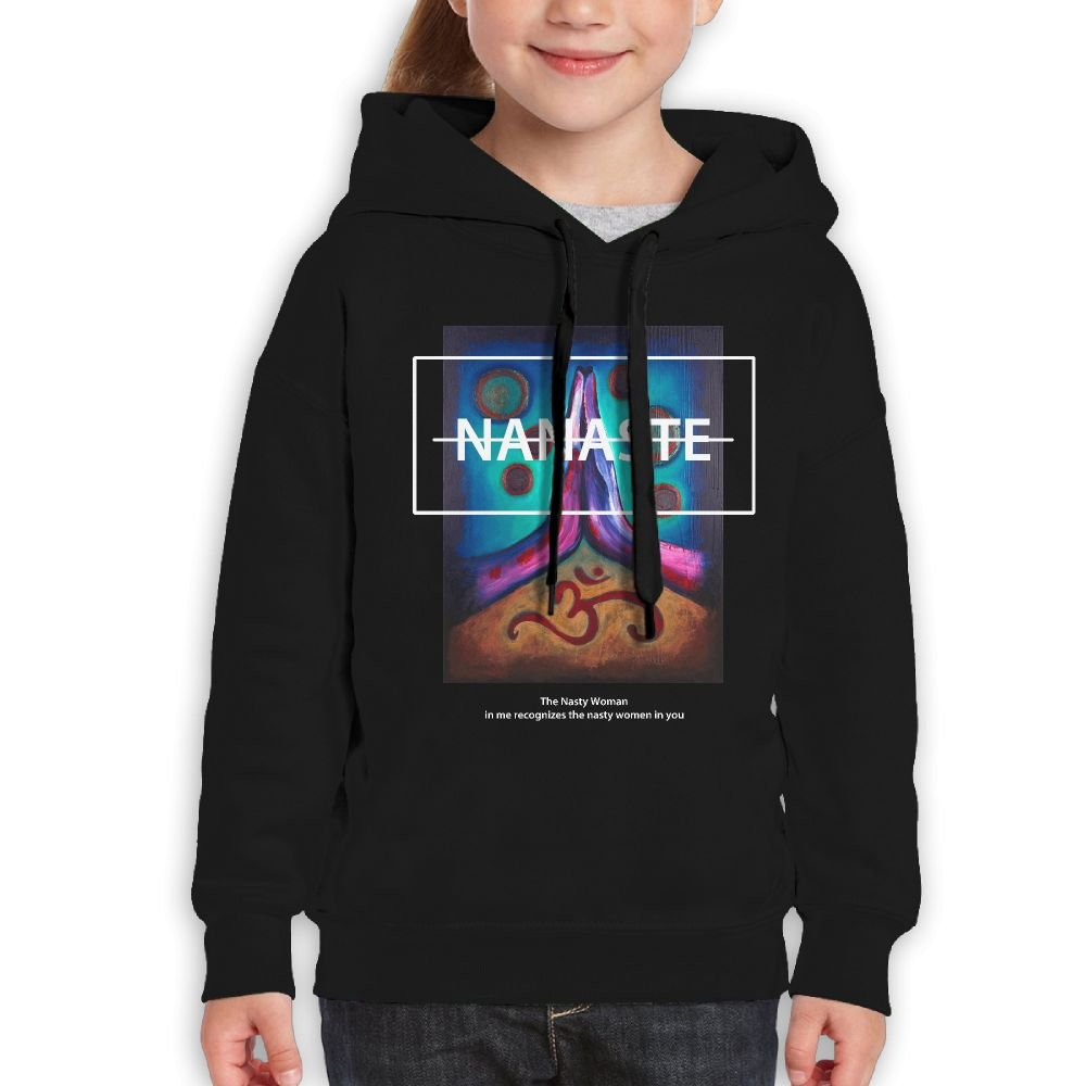 DTMN7 Nanaste The Nasty Woman In Me Recognizes Funniest Printed O-Neck Jacket For Boy Spring Autumn Winter