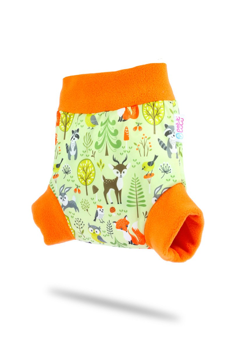 Made in Europe Astronauts, Size XL Waterproof Petit Lulu Pull Up Diaper Wrap 5 Sizes Easy /& Quick Changing Reusable /& Washable
