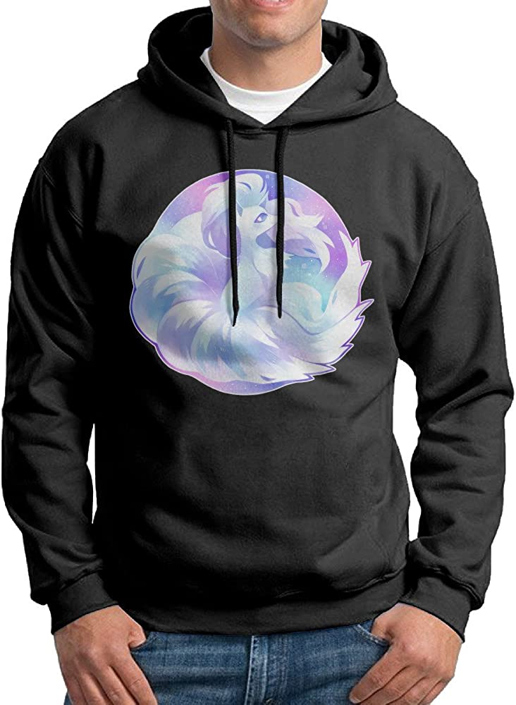 Mens Hoodie Sweatshirt FKJ-FKJ Sweater Black