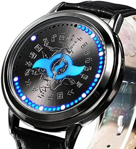 Wildforlife Digimon Adventure tri. Yamato Crest of Friendship Collector's Edition Touch LED Watch