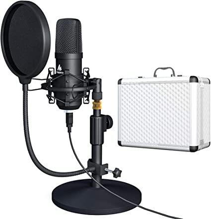 NEW Professional Studio Recording Condenser Microphone w// Shock Mount /& Case!