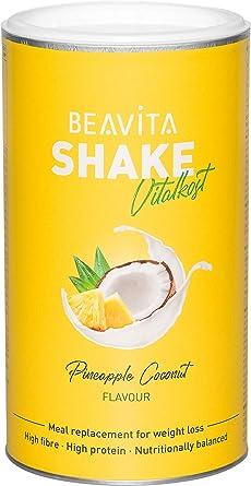 Batidos para adelgazar sabor Piña & Coco 572 g – Sustitutivo de comida proteico – Batido saciante de apetito – Para perder peso y mantener músculo - ...