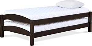 Max & Finn DL7431 Stackable Twin Beds, Espresso,