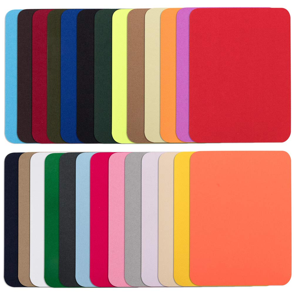 Assorted Sizes /& Colors 16-Count Dritz 55283 Patches Twill Iron-On