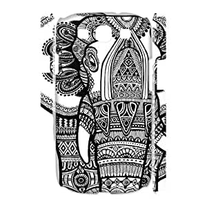 Personalize Abstract Cell Phone case Samsung Galaxy S3 I9300,Cover for Samsung Galaxy S3 I9300,Custom Elephant Art Cover Case for Samsung Galaxy S3 I9300 moye-9766019 at monye.