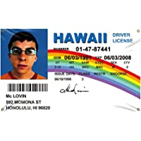 McLovin ID Flag 3x5Ft Fake Driver License Banner 3x5 Ft Funny Poster UV Resistance Fading & Durable Man Cave Wall Flag…