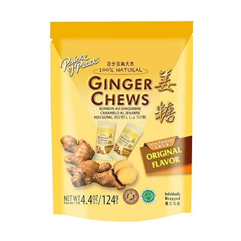 10 Pack Ginger Chews 4.4 Ounce by Prince Of Peace (Image #1)