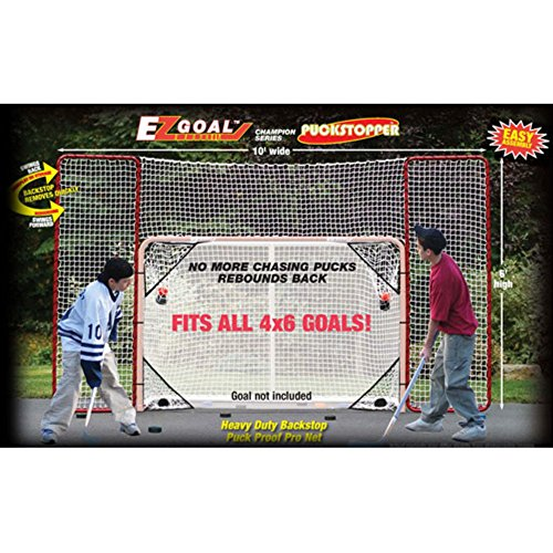 EZGoal Hockey Backstop Targets White
