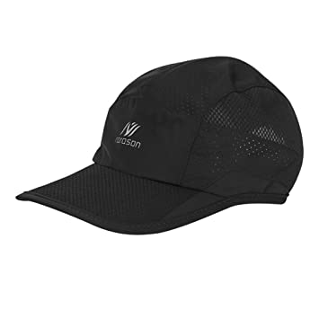 83b51239f ITODA Unisex Baseball Cap Quick Drying Cap Lightweight Foldable Sunblock  Alpine Cap Adjustable Buckle Cap Breathable