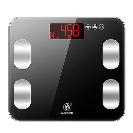 Balanzas electrónicas domésticas, básculas de pesaje, escalas de grasa multifuncional, escalas de grasa