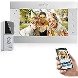 """JLB7Tech Wired IP Video Doorbell,10"""" HD Monitor Wireless WiFi Door Phone Home Security Intercom System,HD Door Bell…"""