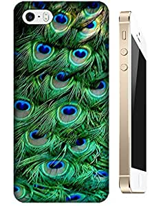 LKPOP Cases / Covers Beautiful Animal Birds Peacock Peafowl Fly Fashion Design Cell Phone Case Cover For iPhone 5/5S No.5