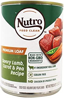 product image for Nutro Kitchen Classics Premium Loaf Adult Canned Dog Food Grass Fed Lamb & Brown Rice Dinner  12.5 oz. (355g)