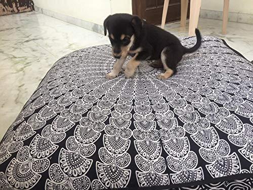 Huge mandala tapestry Dog or Cat bed, mandala cushion cover, boho floor pillow, bohemian floor cushion, boho seating, boho decor, boho dog bed (Christmas Decorative)