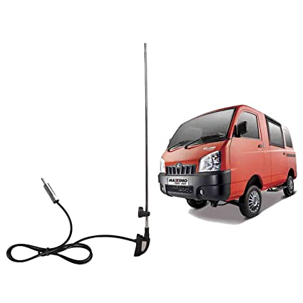 Autofy Roll Up Am Fm Car Antenna For Mahindra Maximo Chrome And
