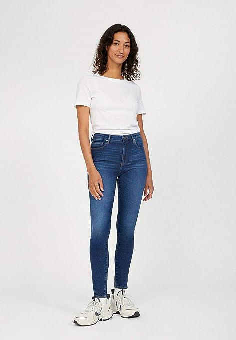 Tillaa X Stretch damskie buty typu skinny fit, z 5 kieszeniami i denimem: Odzież