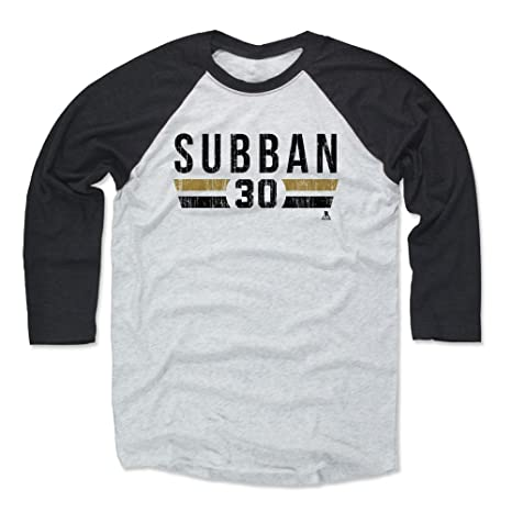 newest 7a49b d06f4 Amazon.com : 500 LEVEL Malcolm Subban Baseball Shirt - Vegas ...