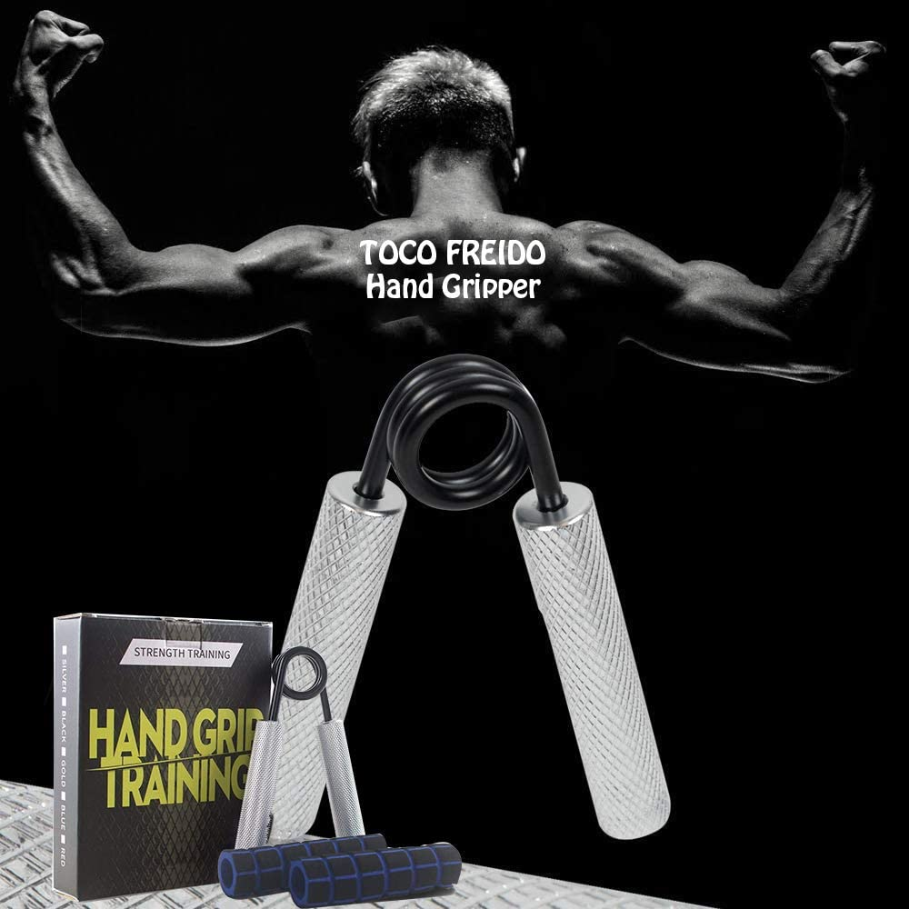 Forearm Hand Gripper Strengthener Wrist GripGym Fitness Training Exersicer