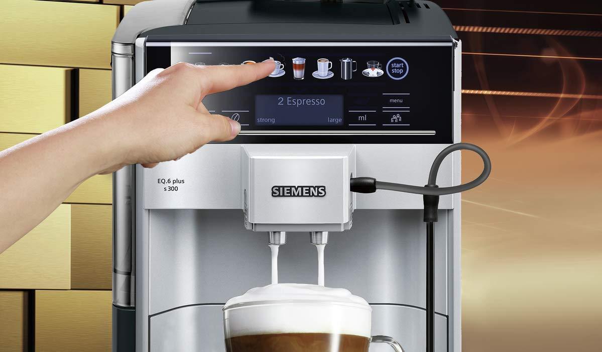 Amazon.com: Siemens - Cafetera espresso súper automática con ...