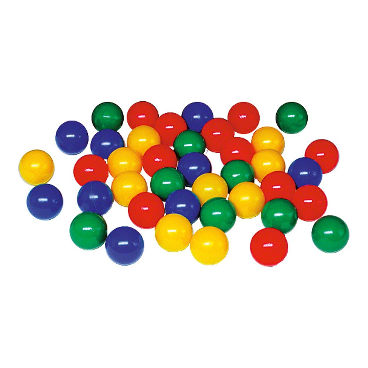 Bälle für Bällchenpool Bällepool Bällebad Bällchenbad Ballppol, 6 cm, 500 Stück