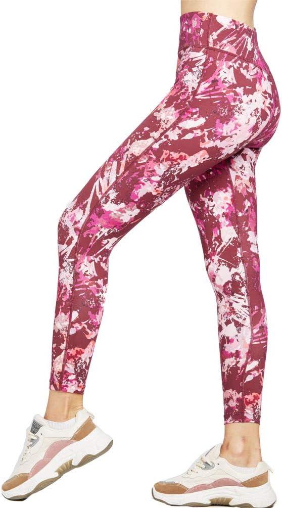 SILIK Womens Sports Workout Leggings atl/éticos Pantalones de Yoga de Longitud Completa Pantalones de Gimnasia para Correr Medias