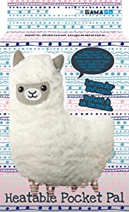 Gamago Llama Pillow, White
