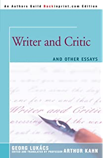 com essays on realism mit press georg writer and critic and other essays