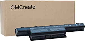 OMCreate Battery Compatible with Acer AS10D31 AS10D51, Acer Aspire 5253 5251 5336 5349 5551 5552 5560 5733 5733Z / Acer TravelMate 5740 5735 5735Z 5740G / Gateway NV55C NV50A NV53A NV59C