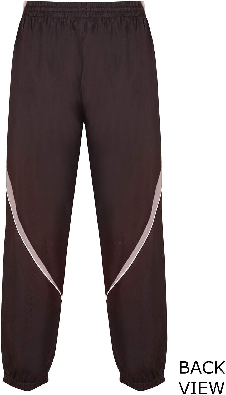 Gazelle Sports Mens Tracksuit Jog Pants Jogging Bottoms Trousers Joggers Cuffed Hem Zip Pockets